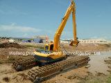 China-amphibischer Exkavator/Exkavator verwendet im Wasser