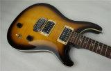 Colorer le corps solide de guitare de P.R. de flamme de voûte électrique d'érable