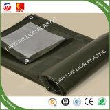 2mx4m Prata verde de alta qualidade resistente 120 GSM PE oleados