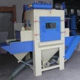 수평한 자동적인 모래 분사 기계