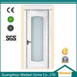 PVC/UPVC lamellierte Tür für Hotel-Projekt mit kundenspezifischem Entwurf (WDP3061)