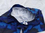 Homens Blue Camo Boardshorts Calções