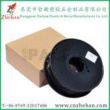 Черная нить принтера волокна 3D углерода интенсивности Dia 1.75mm 3.0mm большая