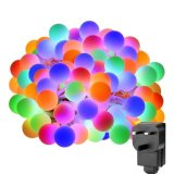 De fee steekt het LEIDENE van de Bol 10m 100 RGB Licht van het Koord aan