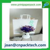 Luxe romantique personnalisé avec sac à papier en velours Twisted Handle