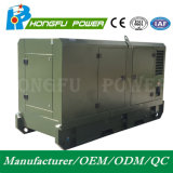 Reserve Diesel van de Macht van de Macht 82.5kw/105kVA Geluiddichte Generatie met de Motor van Shangchai Sdec