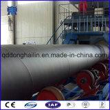 Macchina di granigliatura della parete esterna dei tubi d'acciaio di Qgw per trattamento preparatorio e la pulitura dei tubi