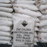 Het Chloride van het zink 98~93% Industriële Belangrijke Fabriek van de Rang