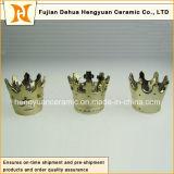 Heißes Sale, Small Creative Crown Shape Ceramic Candle Holders (Hauptdekoration)