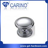 Handvat het Van uitstekende kwaliteit van het Meubilair van de Legering van het Zink van het Type van knop (GDC1020)