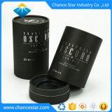 Custom Noir mat la texture du papier Tube cosmétique
