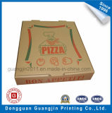 Nach Maß Packpapier-gewölbter faltbarer Pizza-Kasten Brown-