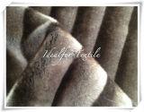 De pelo largo pelaje falso impreso Artificial/Faux Fur