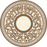 Le marbre poli médaillon motif pour le revêtement de sol Waterjet tuile de décoration