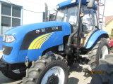 trattore di agricoltura di 100HP 120HP con il caricatore anteriore parasole/della baracca