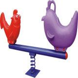 Plastic Double Seesaw para crianças do clube