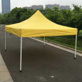 3x3m jaune pop up d'acier de plein air tente Gazebo de pliage