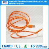 Цена по прейскуранту завода-изготовителя для кабеля USB заряжателя ткани iPhone 6 Braided
