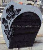 تصميم جميلة يصقل [إيوروبن]/[أمريكن] /Russian أسلوب صوّان أسود/شاهد القبر رماديّة