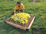 WPC do intertravamento da Plantadeira de flores para uso com Jardim Privado