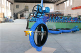 Het volledige Rubber bedekte Elektro Aangedreven Vleugelklep met Goedgekeurd Ce ISO Wras (D971X-10/16) met een laag
