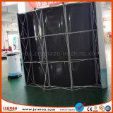 Custom простая установка алюминиевых всплывающее подставка для дисплея