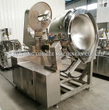 Maïs éclaté actionné au gaz de caramel commercial faisant la machine