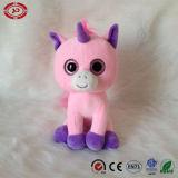 Abitudine popolare del Ce della peluche dell'unicorno del bambino del grande giocattolo dentellare degli occhi