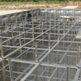 ステンレス鋼または炭素鋼の軟化剤の水漕