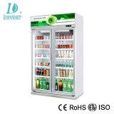 Energiesparende Handelsgetränkebildschirmanzeige-aufrechter Kühlraum