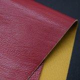 Pfau-Haut Korn geprägtes synthetisches PUfaux-Leder für Beutel