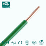 IEC 60227 01 (BV) 450/750V 단 하나 Core Non-Sheathed Rigid Conductor Cable