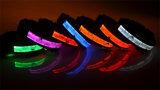 Qualidade mais recente Pet LED piscante Collor Coleira para o Natal