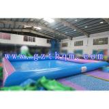 0.55m de água salgada insuflável de PVC para crianças/Nflatable Piscina para barco de pá