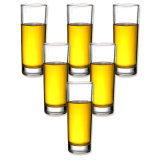 Tazza di vetro personalizzata della spremuta di Frech della tazza dell'acqua della tazza della birra