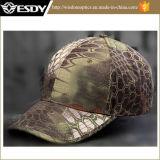 山カラーAirsoftの戦闘の戦術的なガラガラヘビの野球帽のスポーツの帽子