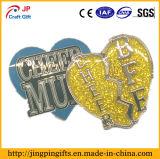 Divisa de encargo al por mayor del Pin de la solapa del metal para los regalos promocionales