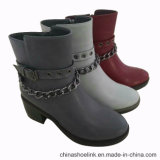 Новые моды девочек Half-Knee зимние ботинки