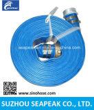 En PVC flexible avec raccord Pinlug Layflat