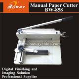 Machine de découpage manuelle de massicot de coupeur de papier de Boway A4 A3 Bw-858