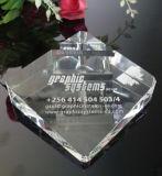 Porte-cartes à cristaux en cristal avec logo Décoration de bureau