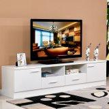 Moderne Art 2018 kundengerechter weißer hölzerner Fernsehapparat-Schrank