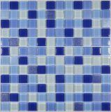 Синий цвет и сияние вокруг Crystal стеклянной мозаики