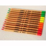 Madera de cedro lápices de colores, lápices de color de tamaño Jumbo