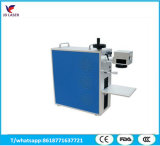 Marcação a Laser de fibra de tamanho mini&gravura da máquina para o alumínio