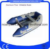 Oferta de goma inflable plegable del barco de pesca de PVC/Hypalon para las ventas
