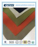 Tissu 100% mou de polyester de sergé d'usine