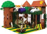 Château d'intérieur de thème drôle de la forêt Ty-14048 pour des gosses, parc d'attractions d'intérieur