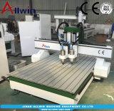 1218 Dos jefes Atc Router CNC Máquina de grabado de 1200x1800mm máquina de carpintería