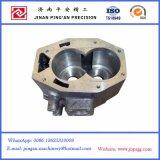 CNC maschinell bearbeiteter Pumpen-Deckel in Soem